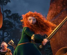 â??BRAVEâ?  (Pictured) MERIDA.  ©2012 Disney/Pixar. All Rights Reserved.