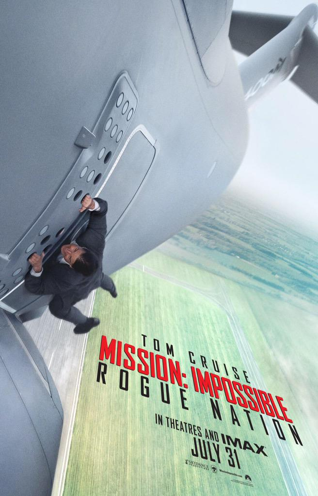 Post -- Mision Imposible 5 Rogue Nation -- 31/07/2015 Rogue