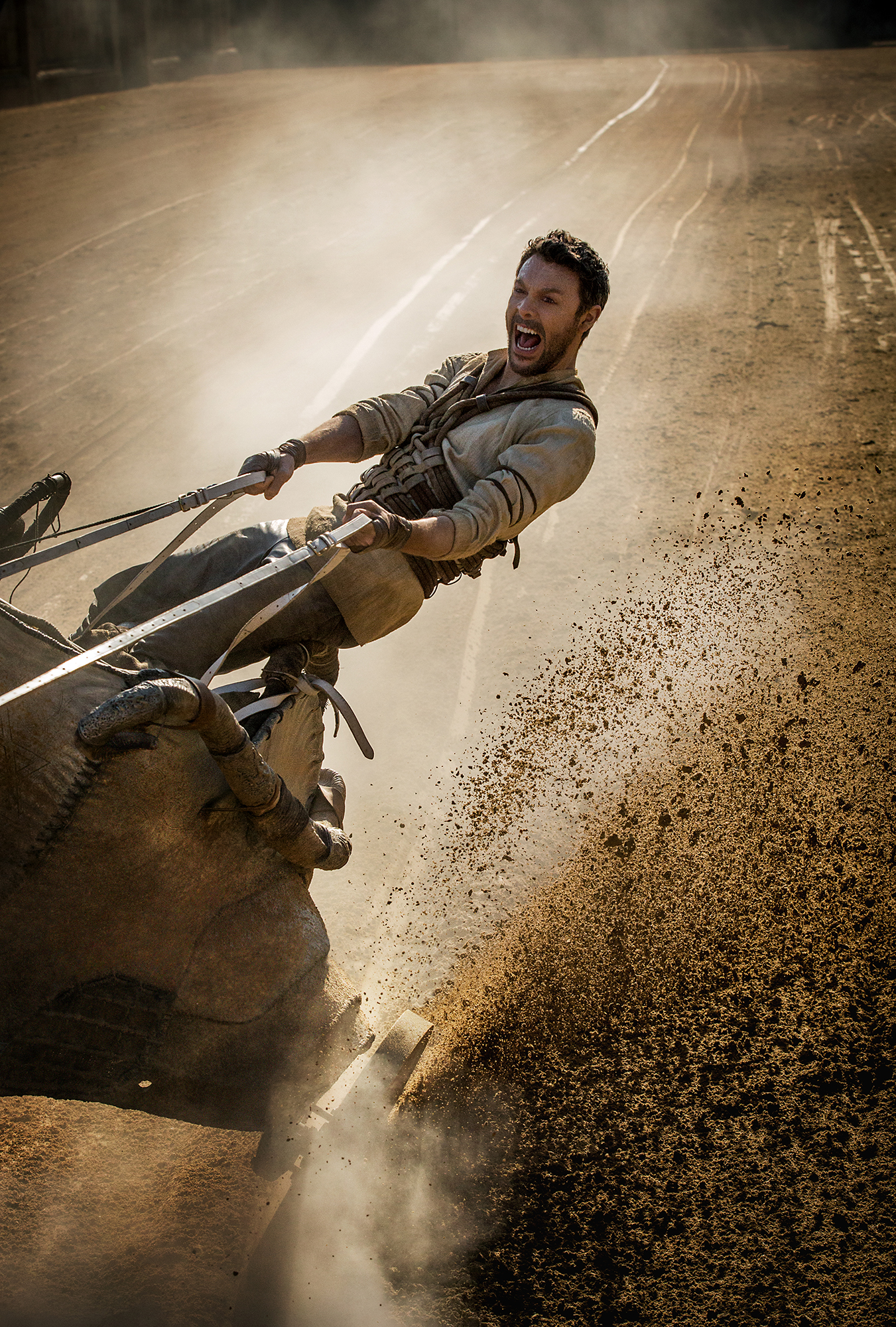 Jack Huston plays Judah Ben-Hur in Ben-Hur from Metro-Goldwyn-Mayer Pictures and Paramount Pictures.