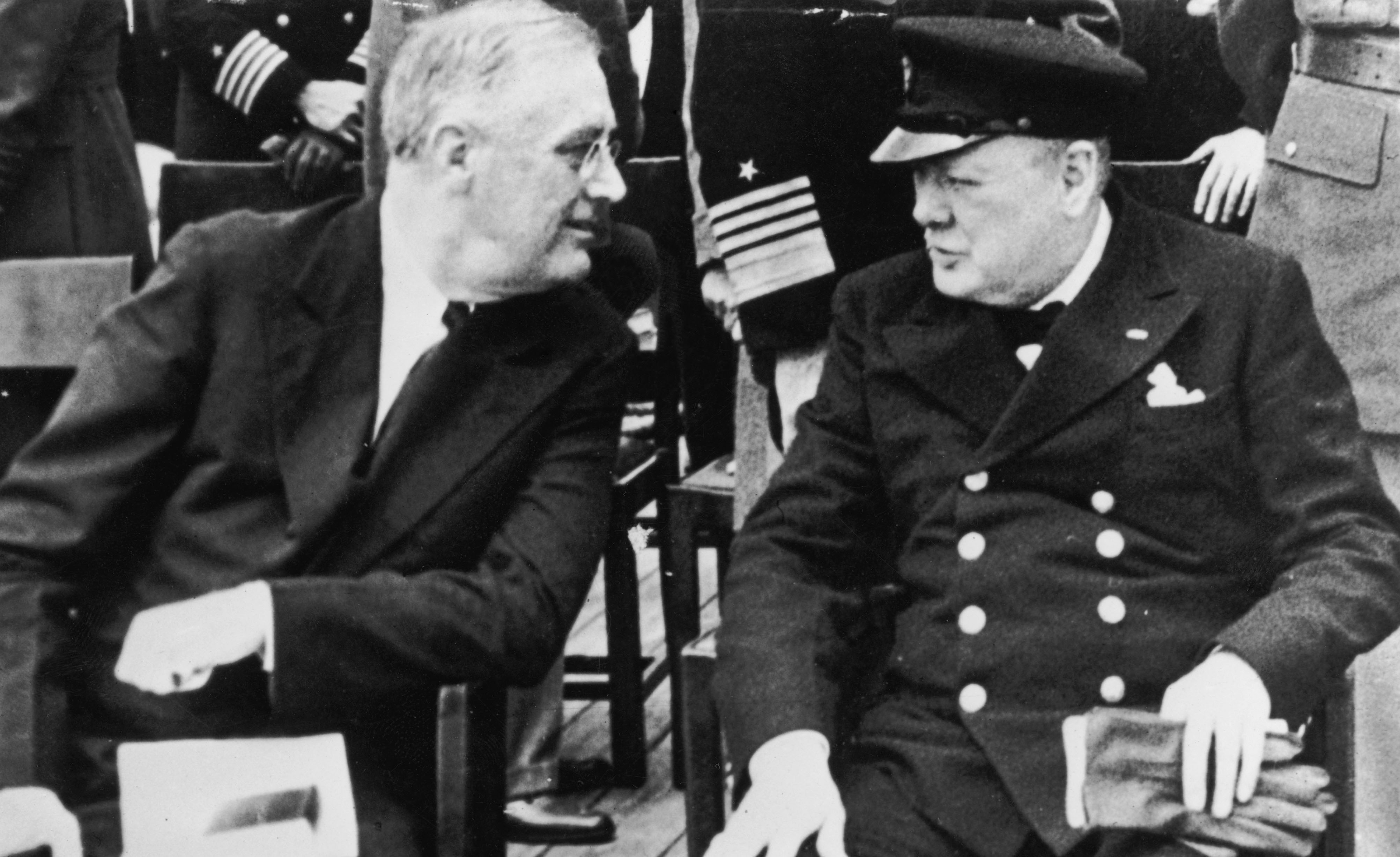 Franklin Delano Roosevelt junto a Winston Churchill. (Photo by Fox Photos/Hulton Archive/Getty Images)