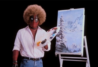 deadpool 2 bob ross