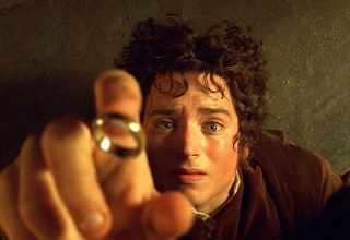 The Lord of the Rings: The Fellowship of the Ring (2001) Directed by Peter Jackson Shown: Elijah Wood (as Frodo Baggins)