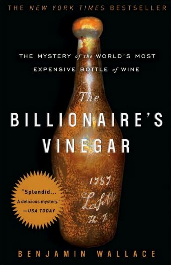 billionaires vinegar
