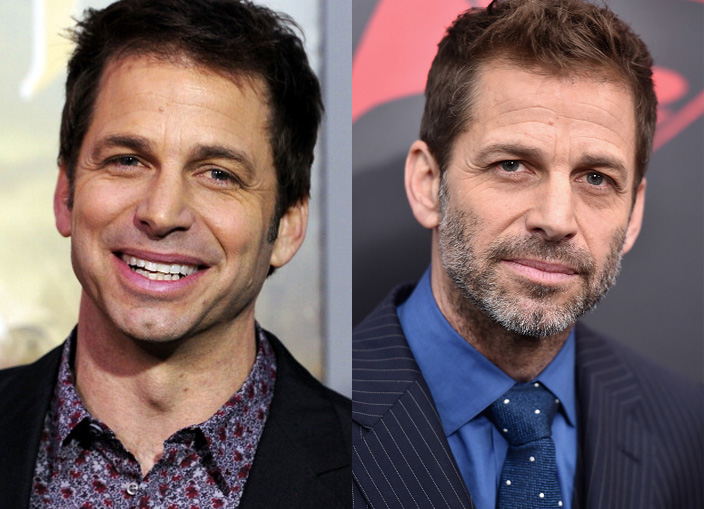 Zack Snyder en 2011 y en 2016 ©Getty Images