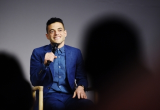 """NEW YORK, NY - JULY 13:  Rami Malek attends the Meet the Actor series to discuss """"Mr. Robot"""" at Apple Store Soho on July 13, 2016 in New York City.  (Photo by Nicholas Hunt/Getty Images)"""