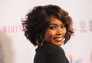 "BEVERLY HILLS, CA - JANUARY 06:  Director Angela Bassett arrives at the premiere of Lifetime's ""Whitney"" at The Paley Center for Media on January 6, 2015 in Beverly Hills, California.  (Photo by Angela Weiss/Getty Images)"