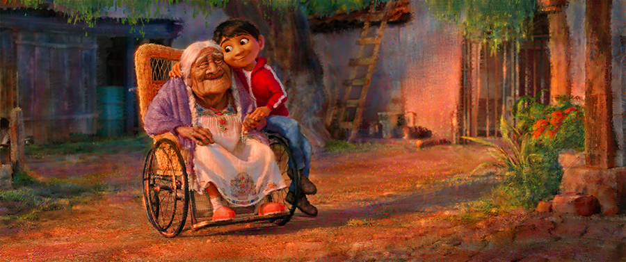 Arte conceptual de 'Coco' ©2016 Disney•Pixar. All Rights Reserved.