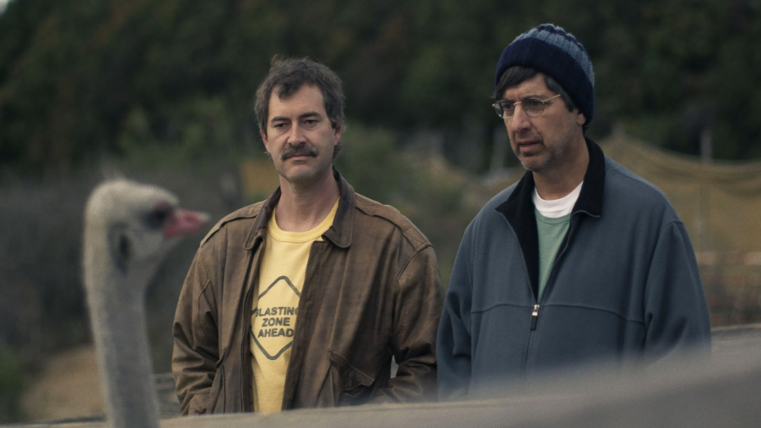 Mark Duplass and Ray Romano appear in Paddleton by Alex Lehmann, an official selection of the Premieres program at the 2019 Sundance Film Festival. Courtesy of Sundance Institute. All photos are copyrighted and may be used by press only for the purpose of news or editorial coverage of Sundance Institute programs. Photos must be accompanied by a credit to the photographer and/or 'Courtesy of Sundance Institute.' Unauthorized use, alteration, reproduction or sale of logos and/or photos is strictly prohibited.