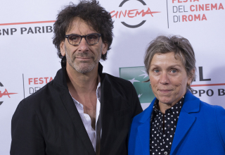 Directors Frances McDormand and Joel Coen during the photocall for the 10Th Rome Film Festival in Rome, Italy, in October 16, 2015. Photo by Alessia Paradisi/Sipa USA