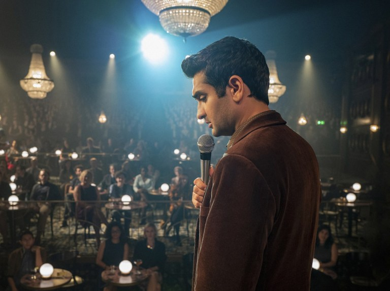 """The Comedian"" -- Pictured: Kumail Nanjiani as Samir Wassan of of the CBS All Access series THE TWILIGHT ZONE available to stream on Monday, April 1st. Photo Cr: Robert Falconer/CBS �© 2018 CBS Interactive. All Rights Reserved."